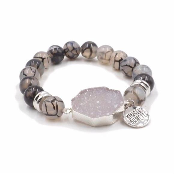 Kinsley Armelle Jewelry - Lunar Silver Bracelet